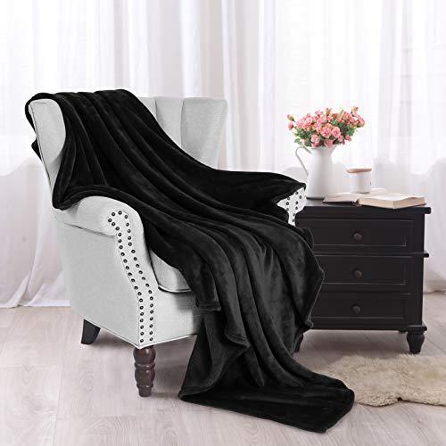 Exclusivo Mezcla Soft Flannel Fleece Velvet Plush Throw Blanket