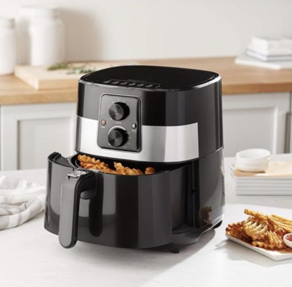 AmazonBasics 3.2 Quart Compact Multi-Functional Air Fryer