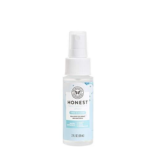 The Honest Company Hand Sanitizer Spray, Fragrance Free