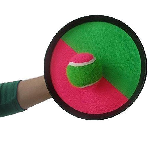 Velcro Paddle Catch Ball Set 1-Pack (Color May Vary)