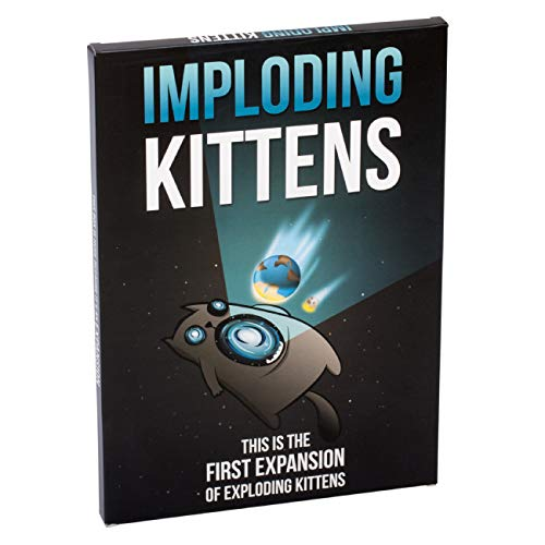 Imploding Kittens: This Is The First Expansion of Exploding Kittens Card Game - Family-Friendly Party Games - Card Games For Adults, Teens & Kids