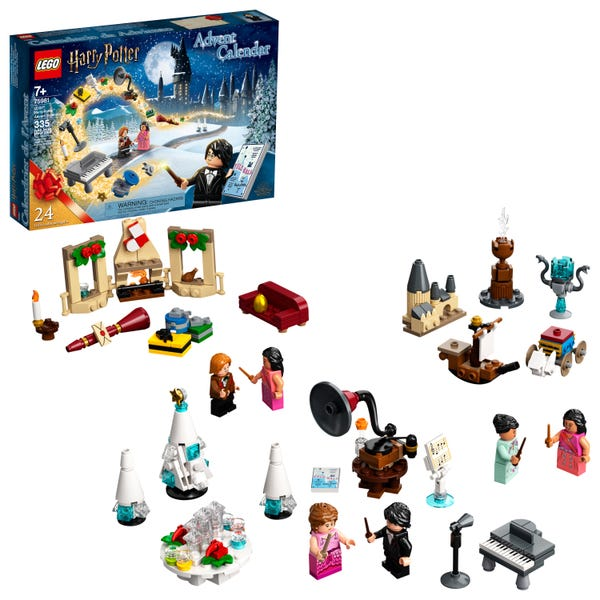 LEGO Harry Potter Advent Calendar 75981 Cool, Collectible Hogwarts Toys for Kids (335 Pieces)