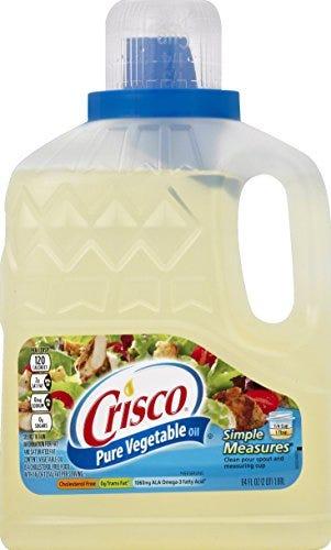 Crisco Pure Vegetable Oil, 64 Ounce
