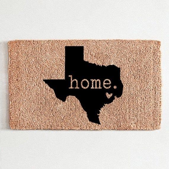 Texas Welcome Mat
