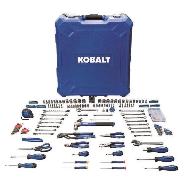 Kobalt 200-Piece Household Tool Set with Hard Case