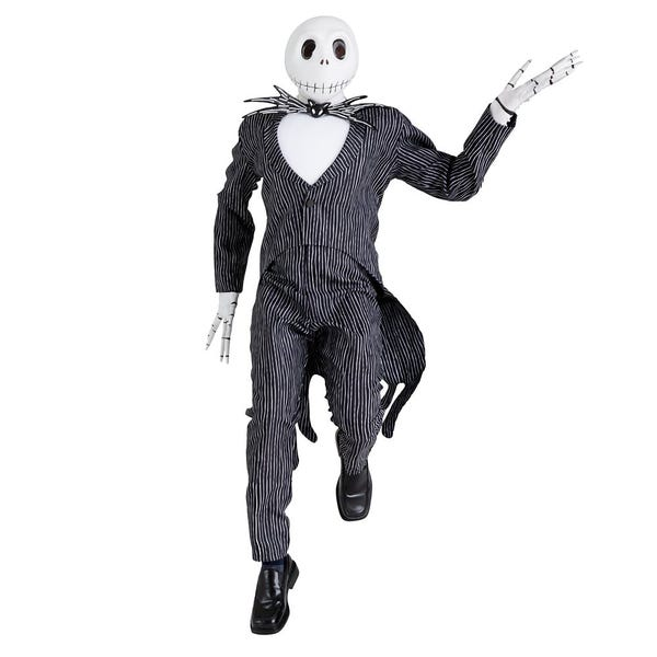 Jack Skellington Prestige Costume for Adults by Disguise – The Nightmare Before Christmas