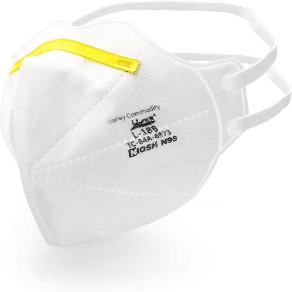 Harley N95 NIOSH - L-188 Folding Mask