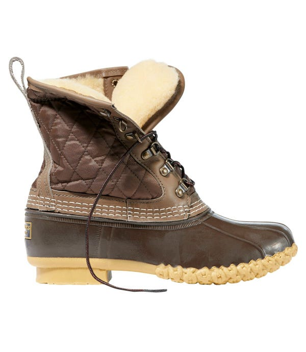 """Women's Limited-Edition L.L.Bean Boots, 8"""" Shearling-Lined"""