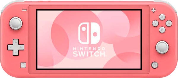 Nintendo - Switch 32GB Lite - Coral