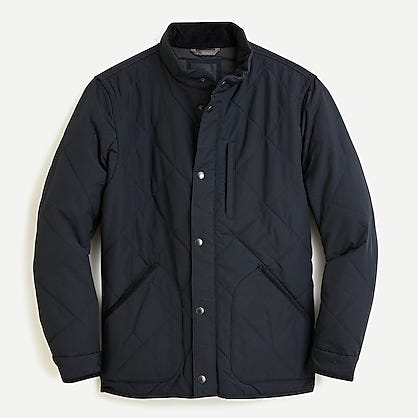 J.Crew: Sussex Quilted Jacket With PrimaLoft® For Men