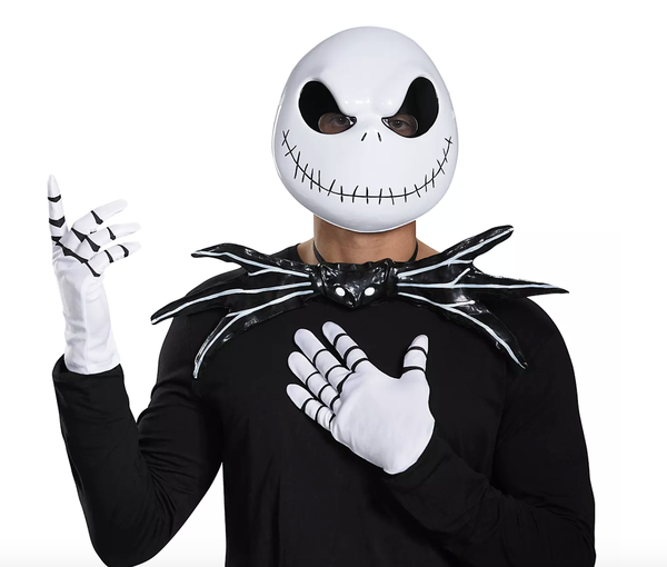 Jack Skellington Costume Accessories Kit for Adults by Disguise