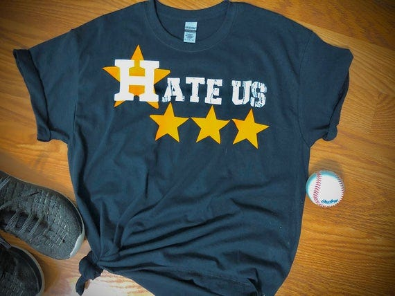 Astros Hate Us T-Shirt
