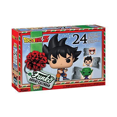 Funko Advent Calendar: Dragon Ball Z 2020, Multicolor