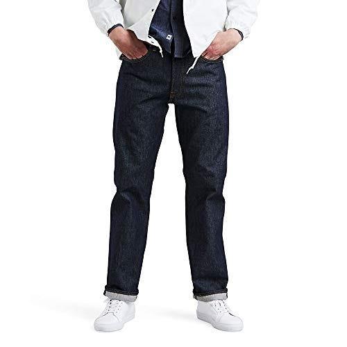Levi's Men's 501 Original Fit Jeans, Rigid - STF, 36W x 32L