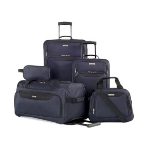 Springfield III 5 Piece Luggage Set, Created for Macy's