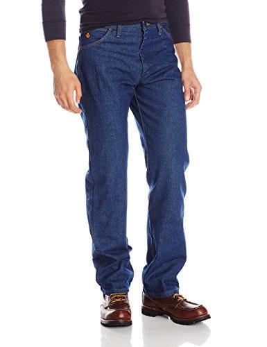 Wrangler Riggs Workwear Men's Flame Resistant Original Fit Jean,Blue,36x30