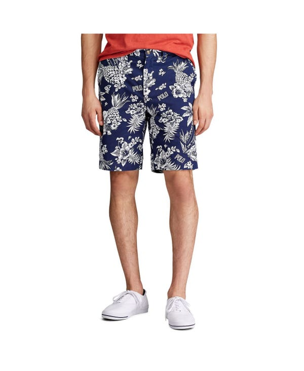 """Men's Relaxed Fit 10"""" Polo Bear Short"""