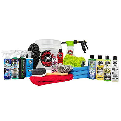 Chemical Guys HOL148MAX 20-Piece Arsenal Builder Wash Kit with TORQ