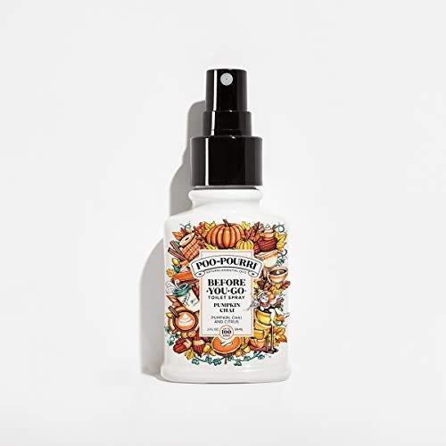 Poo-Pourri Before-You-go Toilet Spray, 2 Fl Ounce, Pumpkin Chai Scent Oz