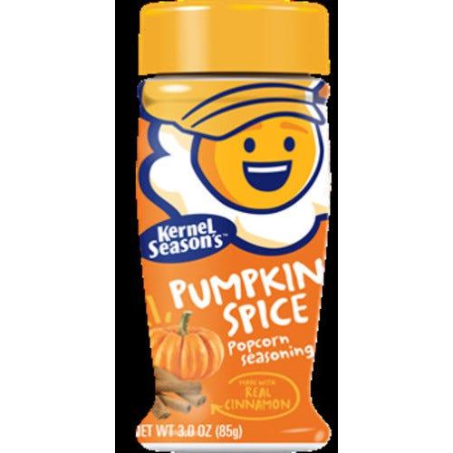 Kernel Season's Limited Edition Pumpkin Spice Popcorn Seasoning, 3 Oz