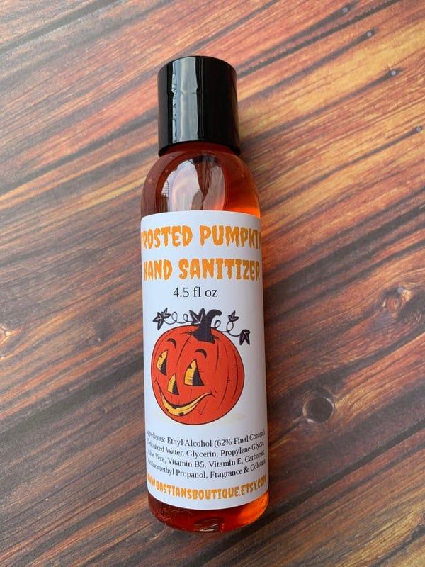 Frosted Pumpkin Hand Sanitizer