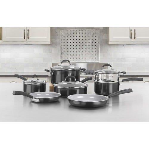Cuisinart 11 Piece Aluminum Non Stick Cookware Set