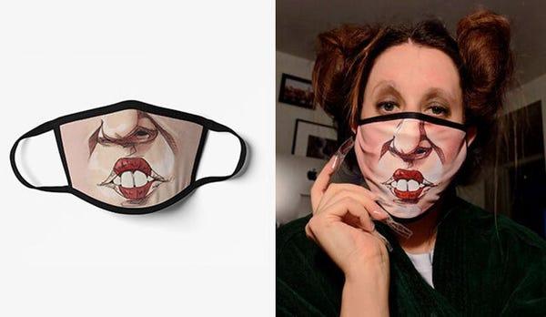 Hocus Pocus Mask, Face Mask