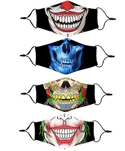 Fashion Cotton Face Mask Reusable for Women Men