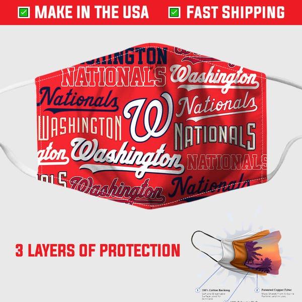 Fauci Washington Nationals Face Mask