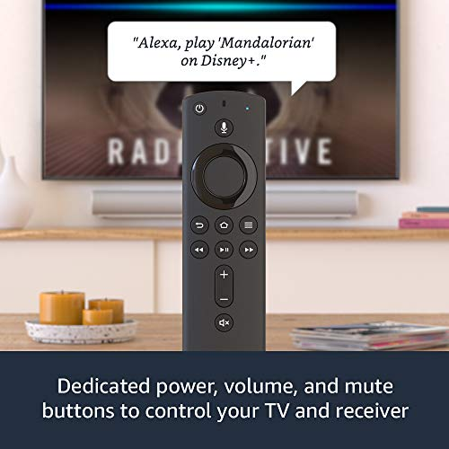 All-new Fire TV Stick with Alexa Voice Remote (includes TV controls)