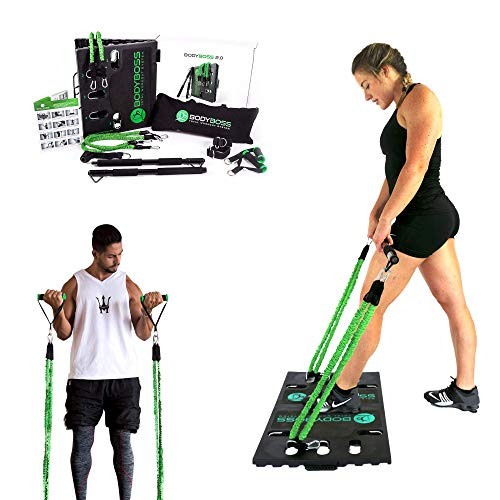 BodyBoss Home Gym 2.0 by 1loop - Portable Gym Workout Package
