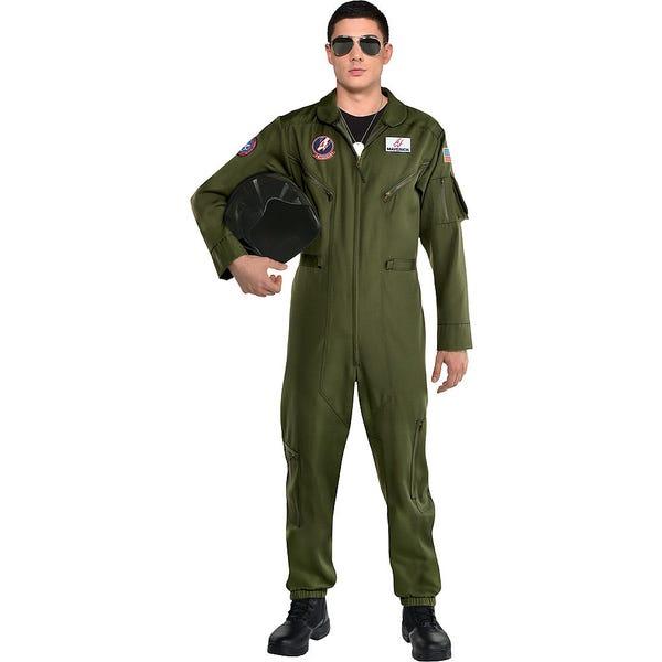 Maverick Flight Suit Costume for Men - Top Gun 2