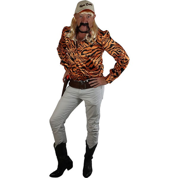 Adult Exotic Tiger Lover Costume Accessory Kit