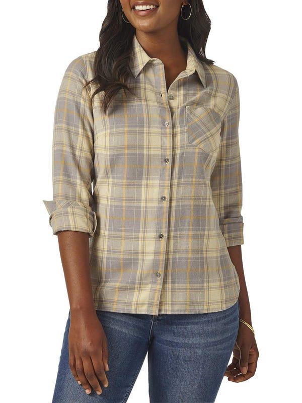 Lee Riders - Women's Modern Heritage Long Sleeve Flannel Shirt