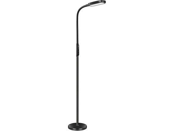 Miroco LED Adjustable Floor/Desk Lamp w/ 5 Brightness Levels & 3 Color Temperatures