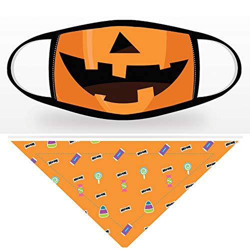 Pumpkin & Candy Print Set, Big Dog Size