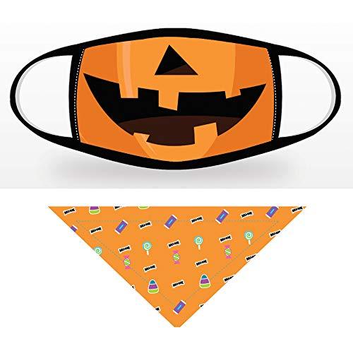 Pumpkin & Candy Print Set, Small Dog Size