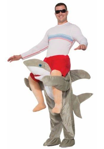 Ride a Shark Adult Costume