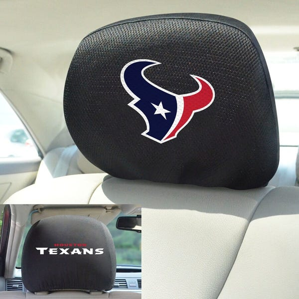 Houston Texans Head Rest Cover
