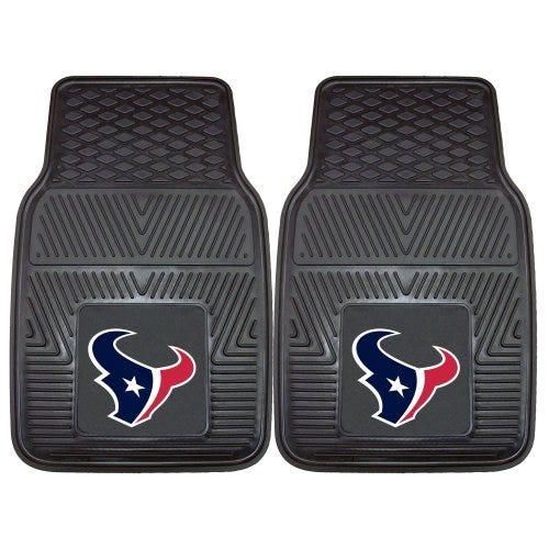 NFL-Houston Texans Vinyl Universal Heavy Duty Fan Floor Mat