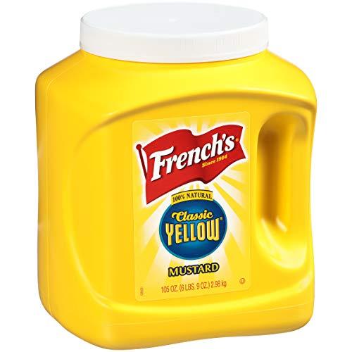 French's Classic Yellow Mustard, 105 oz