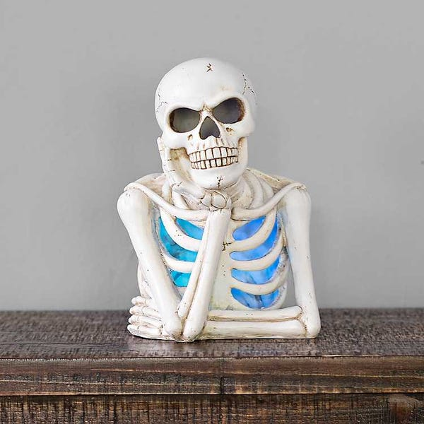 Pre-lit LED Bored Skeleton