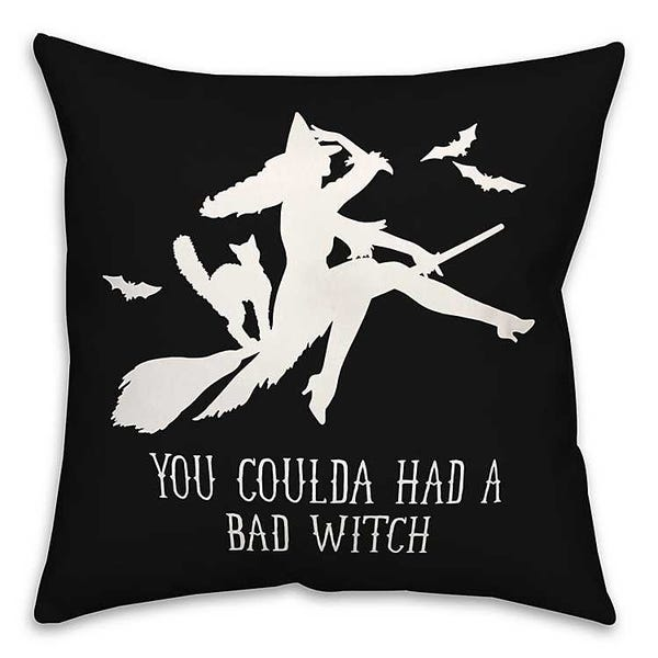 Had a Bad Witch Pillow