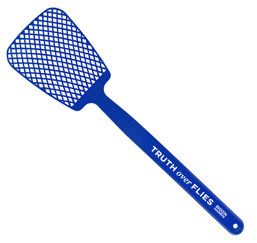 Truth Over Flies Fly Swatter