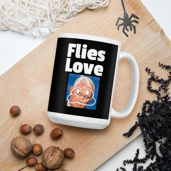 Flies Love Pence Mug| VP Debate Mug| Election 2020 Mug| Biden Harris