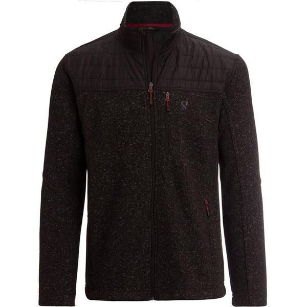 Nylon Yoke Sweater Fleece Jacket - Men's