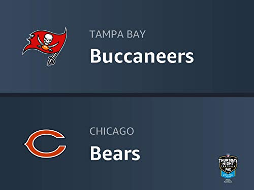 Thursday Night Football: Tampa Bay Buccaneers vs. Chicago Bears
