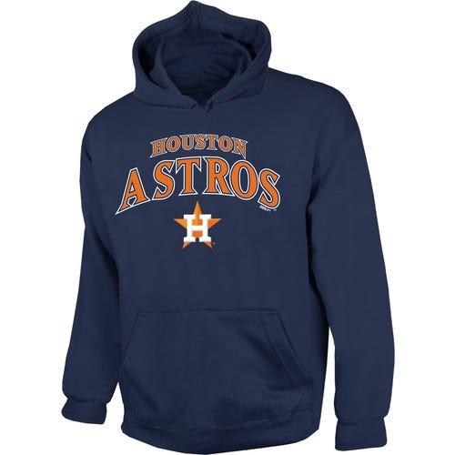 Stitches Men's Houston Astros Navy Pullover Hoodie