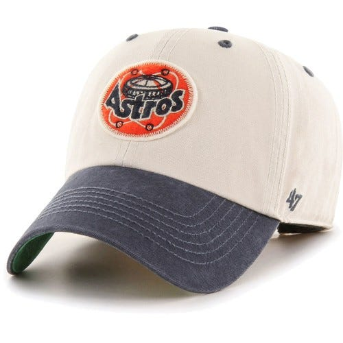 Men's Houston Astros Bone Prewett Clean Up Adjustable Hat