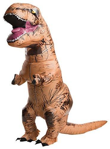 Rubie's Official Jurassic World Inflatable Dinosaur Costume, T-Rex, Teen